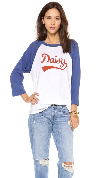 Wildfox Daisy Field Raglan Top