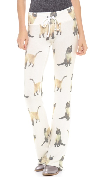 Wildfox We Are Siamese Sweats
