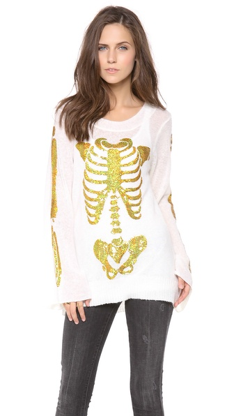 Wildfox I am Gold Sweater