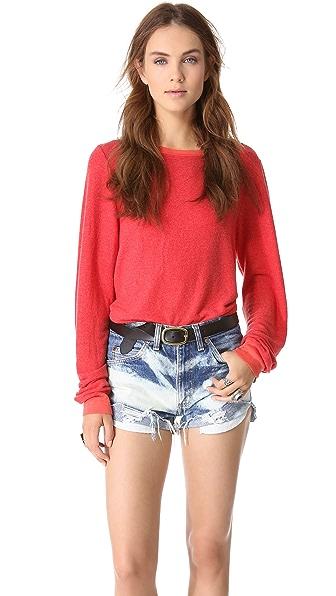 Wildfox Basic Baggy Beach Sweatshirt
