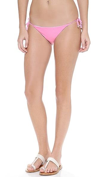 Wildfox Shelly Reversible String Bikini Bottoms