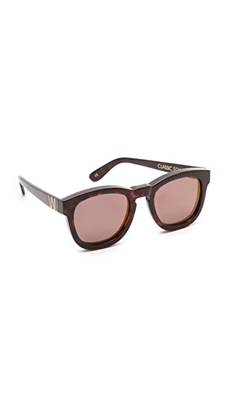Wildfox Classic Fox Deluxe Sunglasses