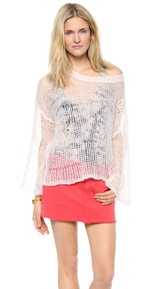 Wildfox Lost Mermaid Knit Sweater
