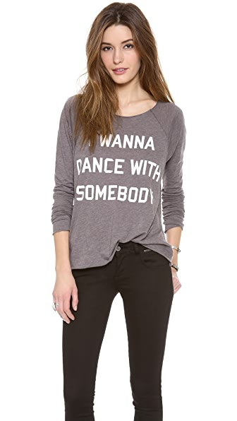 Wildfox Dance with Somebody Tee