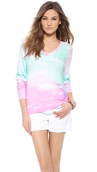 Wildfox Heaven Baggy Beach Sweatshirt