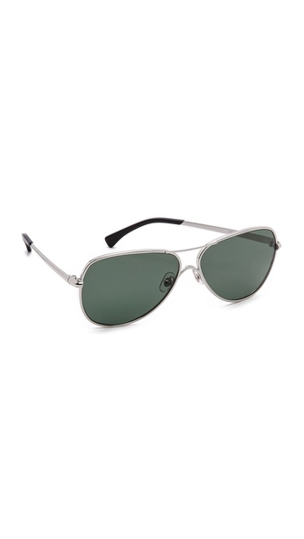 Wildfox Airfox Aviator Polarized Sunglasses