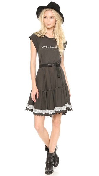 Wildfox Love Braile Dress