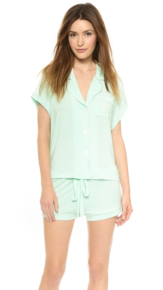 Wildfox Sleeping In Summer Pajama Set