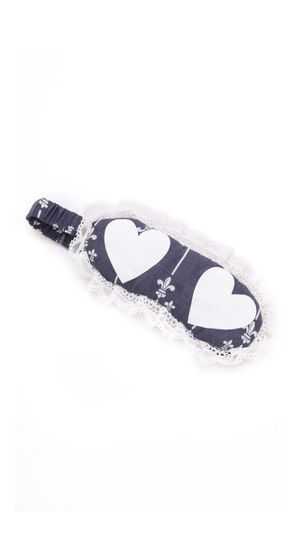 Wildfox Cheeky Hearts Eye Mask