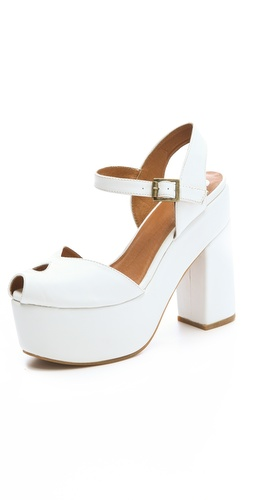 Wildfox X Jeffrey Campbell Lonestar Platform Sandals