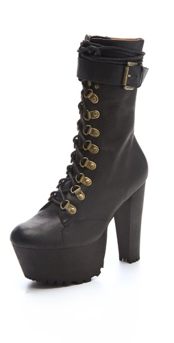 Wildfox X Jeffrey Campbell Seargent Pepper Platform Booties