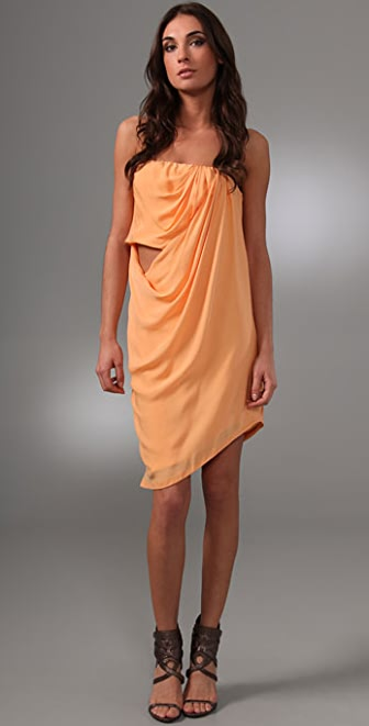 Willow Strapless Sarong Dress