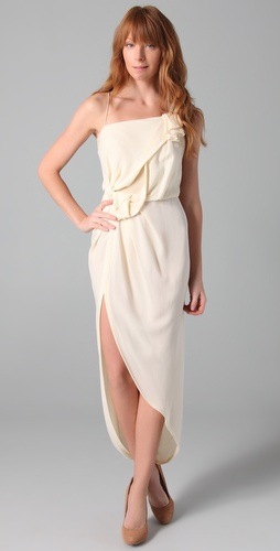 Willow Asymmetric Knot Dress