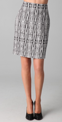 Willow Hand Weave Fitted Skirt