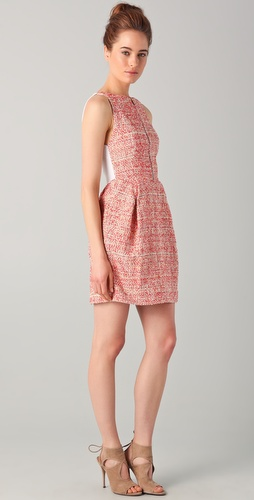 Willow The Sunset Weave Tweed Dress