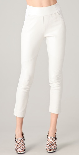 Willow Leather Panel Pants