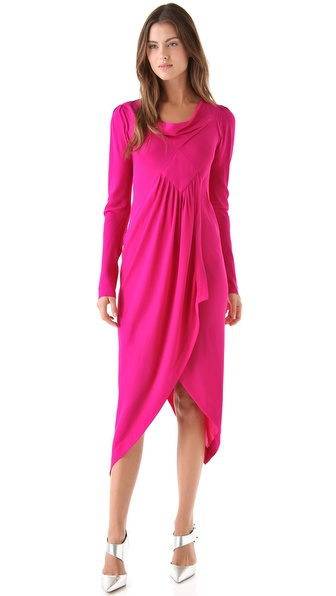 Willow Drape Neck Dress