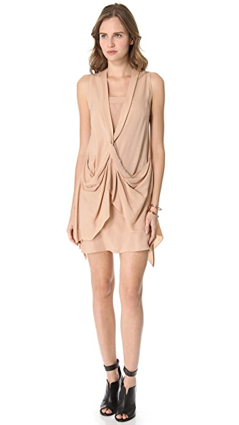 Willow Front Twist Dress