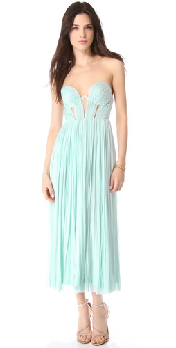 Willow Corset Possession Strapless Gown