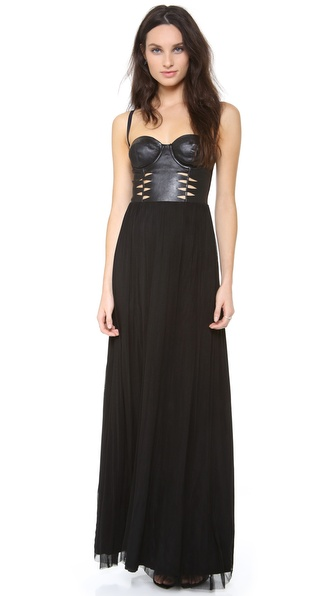 Willow Corset Mesh Dress