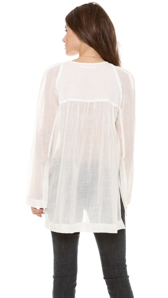 Willow Cotton Gauze Blouse