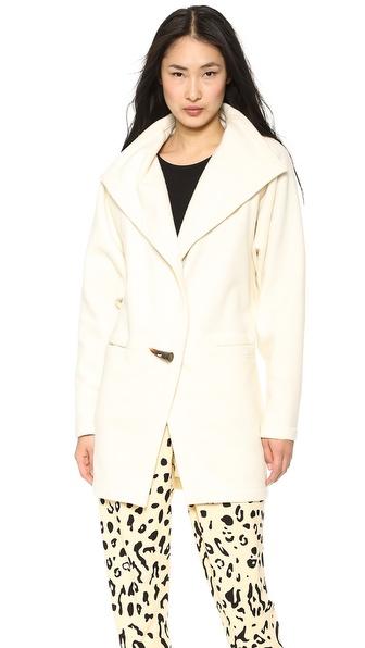 Willow Wool Cashmere Cutaway Coat
