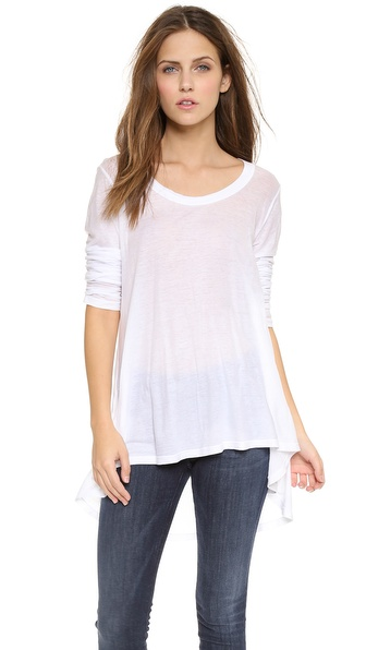 Wilt Hi Lo Tunic with Long Sleeves