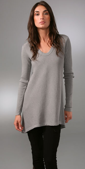 Wilt Distressed Vintage Fleece Top