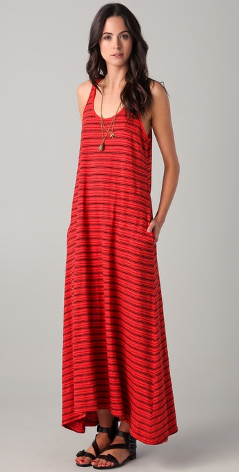 Wilt Racer Cutout Maxi Dress