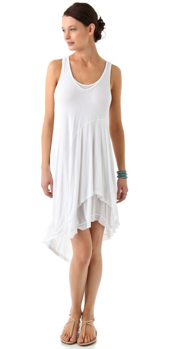 Wilt Layered Midi Tank Dress