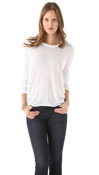 Wilt Slouchy Crew Boyfriend Tee