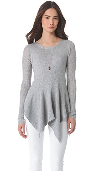 Wilt Peplum Tunic Sweater