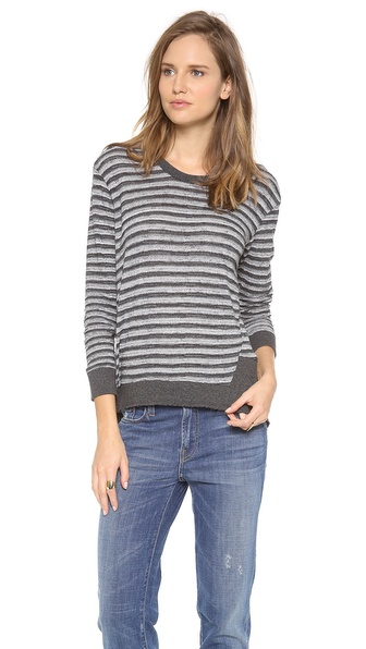 Wilt Long Sleeve Stripe Top