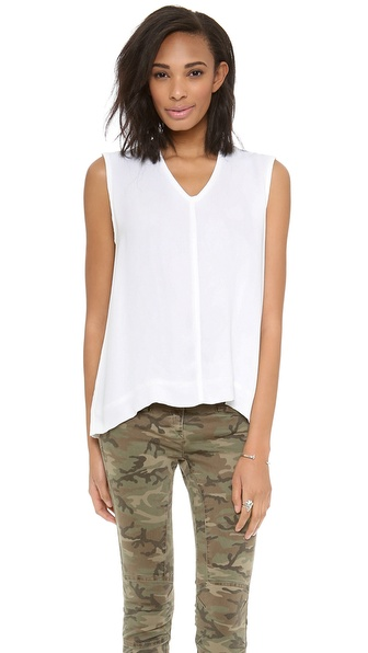 Wilt Boxy Woven Top