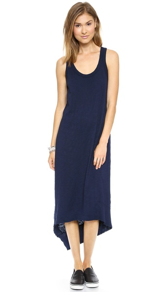 Wilt Slim Back Slant Tank Dress