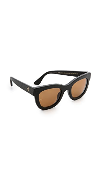 Wonderland Colony Leather Sunglasses