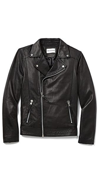 Won Hundred Ray Leather Jacket