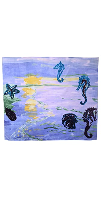 WOW! Karen Kilimnik Double Beach Towel