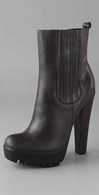 William Rast Platform Booties