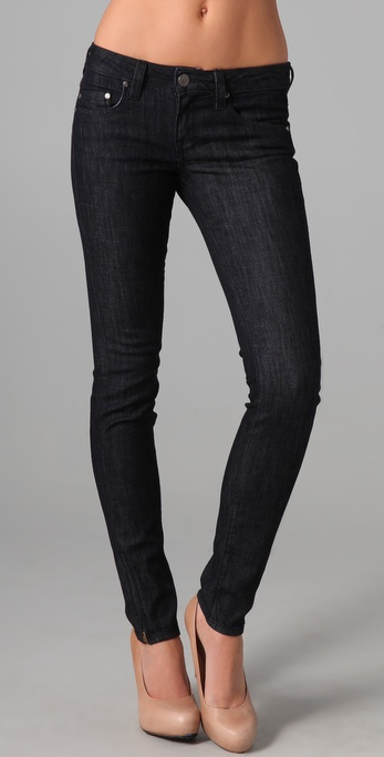 William Rast Raven Skinny Jeans