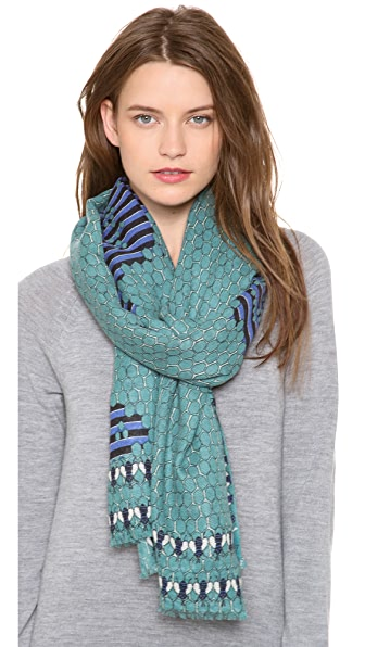 YARNZ Bees Cashmere Scarf