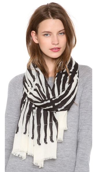 YARNZ Accordion Cashmere Scarf