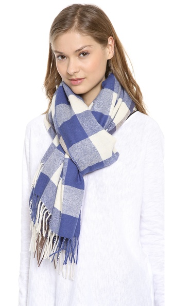 YARNZ Buffalo Check Scarf