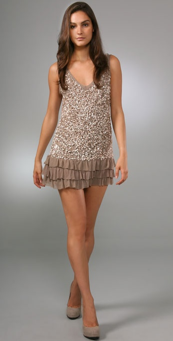 Young Fabulous & Broke Hazel Sequin Dress