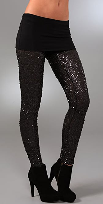 Young Fabulous & Broke Adele Sequin Leggings
