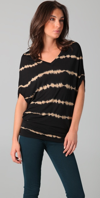 Young Fabulous & Broke Adelle Waltz Striped Top