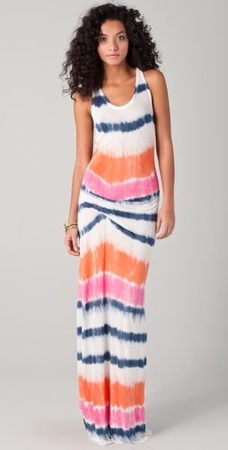 Young Fabulous & Broke Hamptons Laguna Stripe Dress