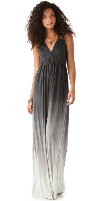 Young Fabulous & Broke Cassandra Ombre Maxi Dress