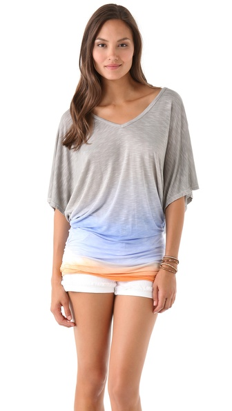 Young Fabulous & Broke Trish Colorblock Tunic