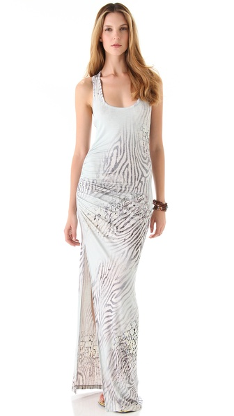 Young Fabulous & Broke Maelle Zebra Print Maxi Dress